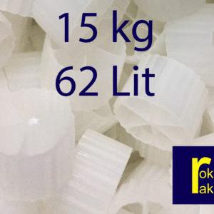 Đệm vi sinh Kaldnes 6 cánh dùng cho hồ koi (15 kg)