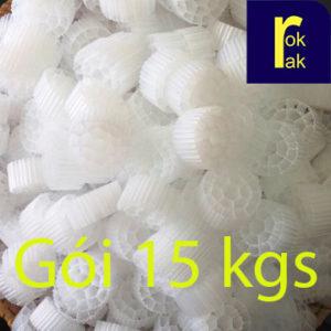 MBBR K3 giá thể vi sinh xử lý nước thải (gói 15kg)