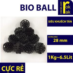 Vật liệu lọc bioball cầu gai cho lọc dàn mưa bakki 1kg