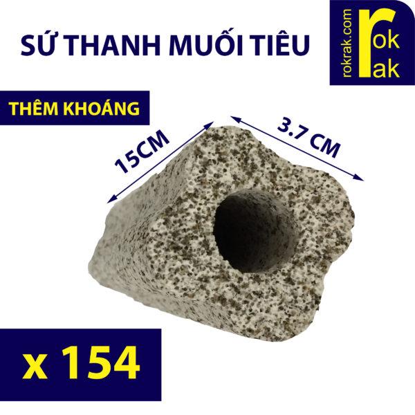 Sứ Thanh Muối Tiêu rokrak store cho hồ cá - Thùng 154 thanh