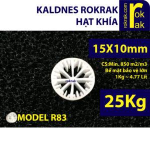Kaldnes Khía R83 gói 50Kg Hạt lọc dành cho lọc hồ cá Koi